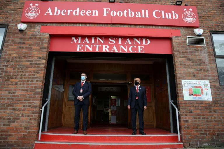 Aberdeen match postponed after positive virus tests