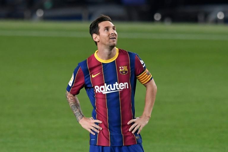 Barcelona won 4-0. AFP