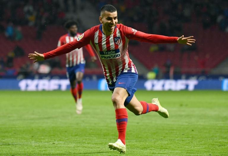 L'Atlético n'abdique pas. AFP