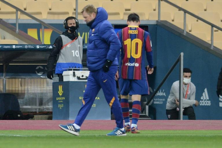 La suspension de deux matches de Lionel Messi confirmée en appel. afp