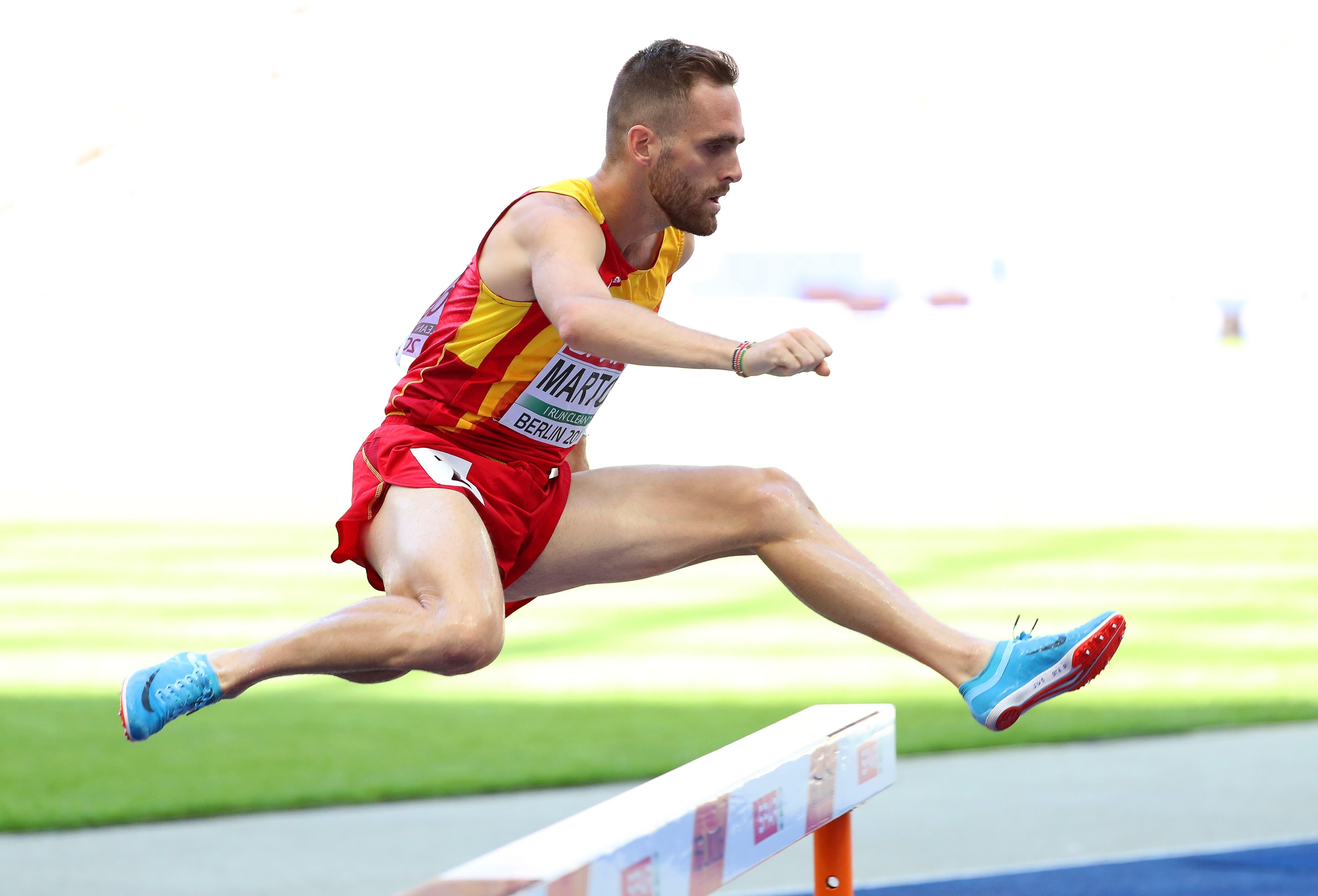 El atleta español Sebastian Martos. EFE/Archivo