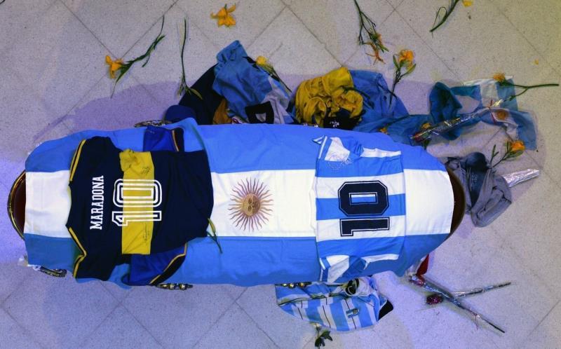Hasta siempre, Diego. EFE