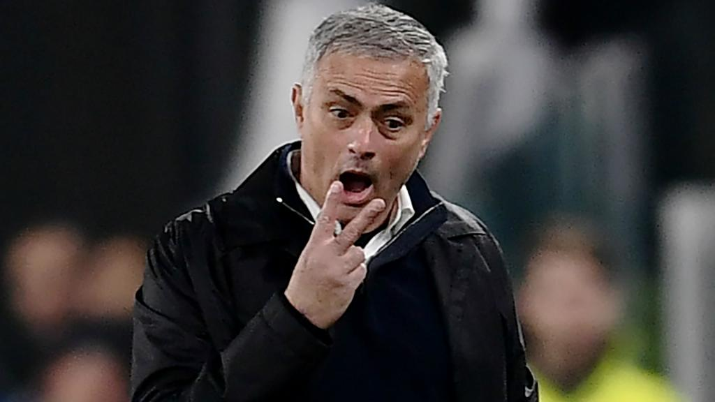 Josè Mourinho Manchester United coach. Goal