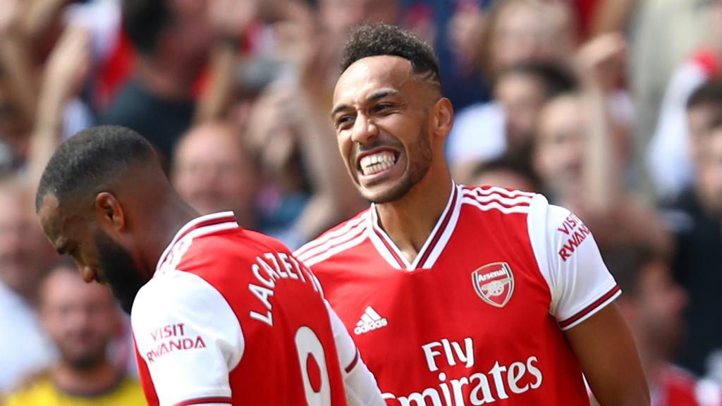 Arsenal attack excites Aubameyang
